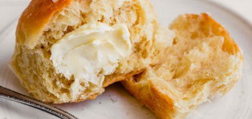 Japanese soft bread with fresh milk cream.