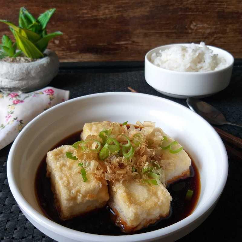 Fried tofu stuffed